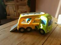 Lorry with sounds