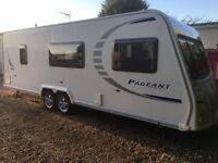 Bailey Caravan Pageant Loire (2008) 6 Berth With Bunk Beds. Like Hobby/Tabbert/Fendt