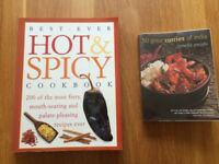 Hot & Spicy Cookbook and 50 Great Curries of India
