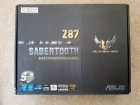 Asus - Sabertooth Z87 ATX LGA1150 Motherboard