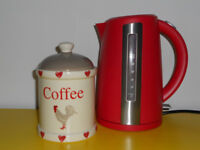Kettle & coffee canister