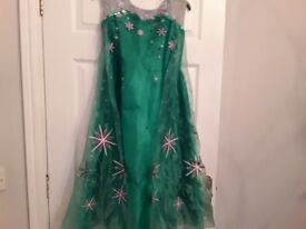 FROZEN Dress Age 9-10yrs ***Only Worn Once***