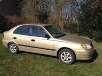 HYUNDAI ACCENT 1.3 GSI 2004 MOT CHEAP TAX AND INSURANCE AND READY TO DRIVE HOME TODAY