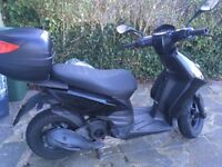 Cheap piaggio typhoon 125cc