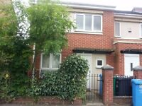 3 bedroom end terrace house with garden and secure parking