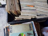 JOB LOT OF VINYLS AROUND 1000