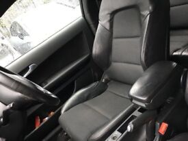 Audi A3 s line half leather seats 2004- 2012 interior arm rest - breaking