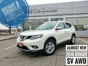 2016 Nissan Rogue SV AWD MOONROOF  FREE Delivery