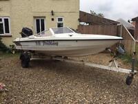 Fletcher Arrowsport Speedboat 75hp with trailer ready to go!