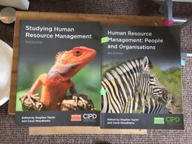 Textbooks used for CIPD