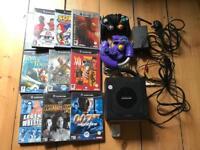 Nintendo GameCube with 10 Games