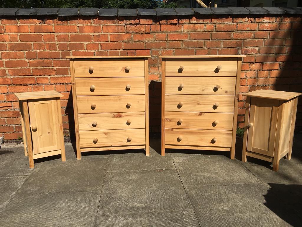 Sold Argos Scandinavia Pine Bedroom Furniture Chest Of