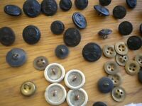 Vintage Buttons Firmin London H allday Birmingham and Crossed swords