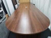 Boardroom /Meeting /Conference Table in Walnut seats up to 20