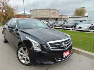 2014 Cadillac ATS NAVIGATION- RED INTERIOR- BOSE SOUND- ONE OWNE