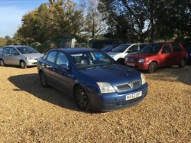 2002 Vauxhall Vectra 2.2 Diesel 3 Months MOT Service History Cheap Car