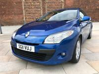 2011 RENAULT MEGANE 2.0 AUTOMATIC / ONE LADY OWNER / ONLY 63000 MILES