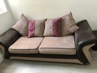 3 seater and 2 seater Fabric Used Sofa set for sale