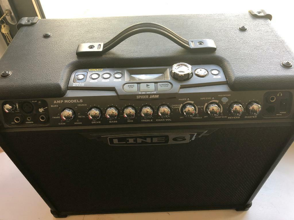 "Line 6 ""Spider Jam"" 75W Guitar Amp 