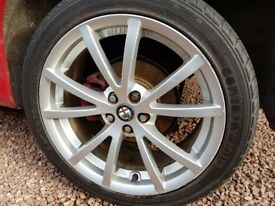 "Alfa Romeo 147 Ti Special Edition 17"" Wheels"