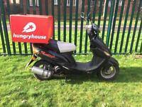 125cc reg as 50cc moped scooter Vespa Honda Piaggio direct bike gilera