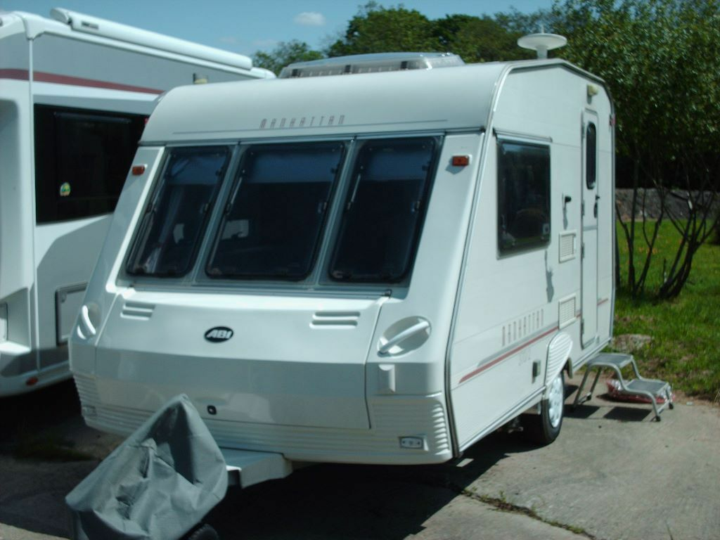Abi Manhattan 370 2 Caravan With Mover And Cris Registered