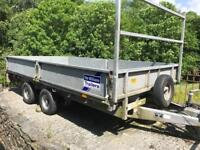 Ifor Williams 2.7 ton flatbed trailer