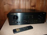 Timewarp Proper MARANTZ Hifi Phono Integrated Amplifier, original remote
