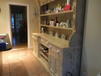 Kitchen Dresser / Sideboard. Shabby Chic Distressed. Excellent condition. Collection only