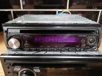 Kenwood head unit, car stereo cd player