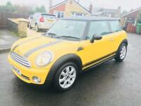 2008 Mini Cooper 1.6 yellow ✅ only 64k miles from new ✅ low owners ✅ beautiful car. PX