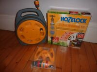 Hozelock Lawn / Garden Kit: Hosereel - Pot Watering Kit - Lawn Sprinkler. All new + unused