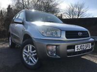 Toyota Rav4 Full Year Mot Low Mileage Full Service History Starts And Drives Great Cheap 4x4 !!!