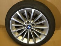 BMW multi-spoke 284 wheels and winter tyre set