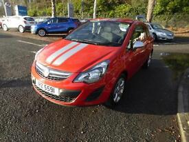 Vauxhall Corsa STING ECOFLEX (red) 2014-10-31