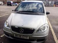 MERCEDES A-CLASS NEW MOT, LOW MILEAGE