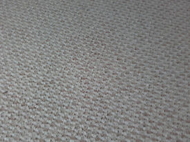 New full roll of carpet. Colour: Sand, 4m x 3.4m, see pics. Collection from NR26 only.