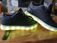 Skechers size 12 colour changing shoes