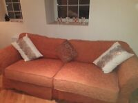 Two sofas £50 One is bed settee