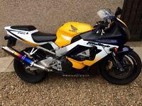 2001 Honda CBR 929RR Fireblade SWAP/PX