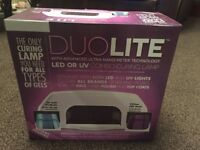 Duolite LED or UV Nail Curing Lamp.
