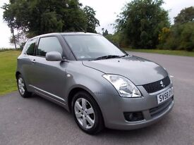 2009 58 SUZUKI SWIFT 1.5 GLX 3 DOOR HATCHBACK