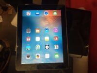 APPLE IPAD 2 16GB NEW SCREEN WITH COVER NO ICLOUD