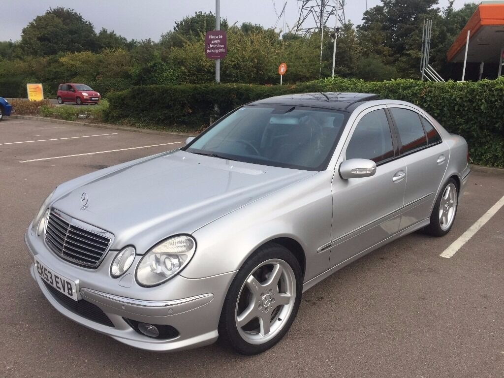 2003 53 mercedes benz e class e320 cdi amg sport solar roof in walthamstow london gumtree. Black Bedroom Furniture Sets. Home Design Ideas