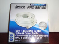 BRAND NEW SWANN PRO SERIES HEAVY DUTY CCTV CABLE