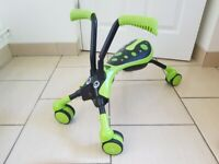 Scramble bug ride on toy