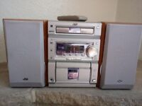 JVC Stereo with detached speakers