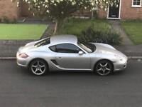 Porsche Cayman 2008, Silver, BOSE, SAT NAV, 51K miles, Full Service History, Black Leather