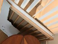 2 x babydan stair gates. Unused. One open. One not