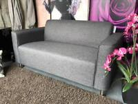 New Hans 2 Seater Sofa in Grey Fabric